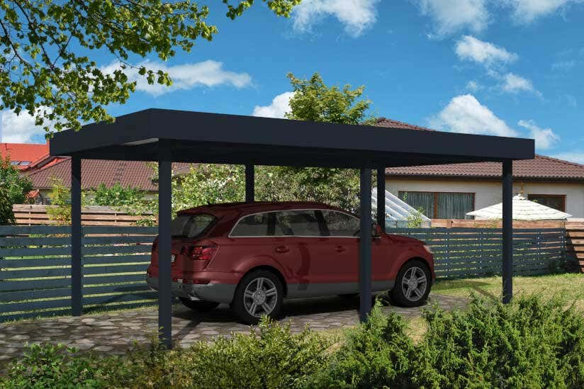 Roof Pitch Car Port What Is The Slope For The Car Port